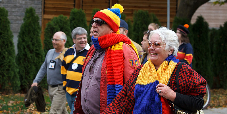Queen's University was proud to welcome home alumni for the Homecoming Weekend celebrations, October 17, 18, 19. Find more photos...