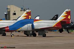 E.25-13 - EB01-13-13 - Patrulla Aguila - CASA C-101EB Aviojet - Fairford RIAT 2006 - Steven Gray - CRW_1260