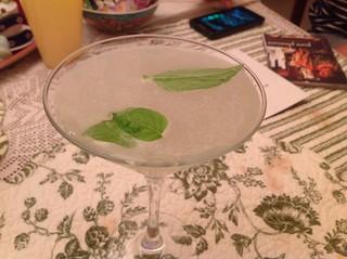 Lime gimlets
