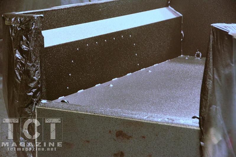 Rhino Lining 4x4 trailer