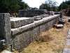 Sanctuary of Despoina at Lykosoura, Arkadia 28: temple, south side