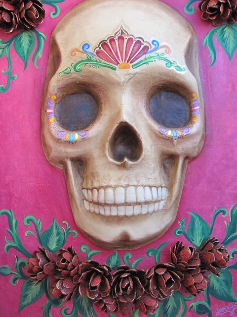 Day of the Dead Skull Art
