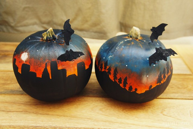 halloween pumpkin decorating diy eightandsixteen