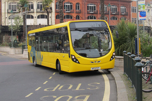 Yellow Buses SA858 HF13FZT