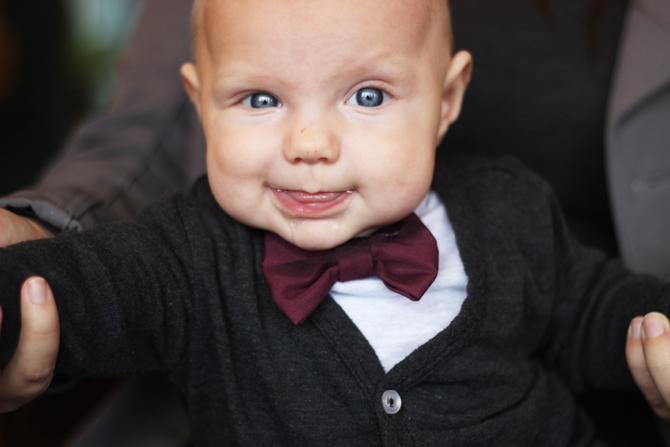 Interchangeable Baby Bow-Tie Bibs