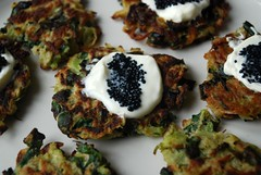 Broccoli Kale Fritters