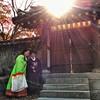 Wedding day, Seoul.
