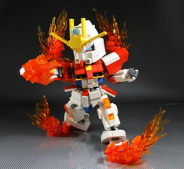 Build Burning Gundam