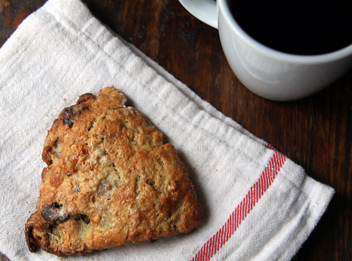 roasted pear scone
