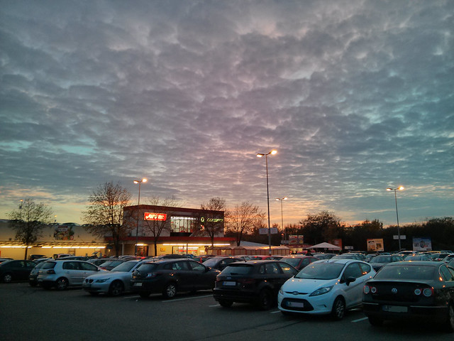 Wolken-Sonnen-Himmel