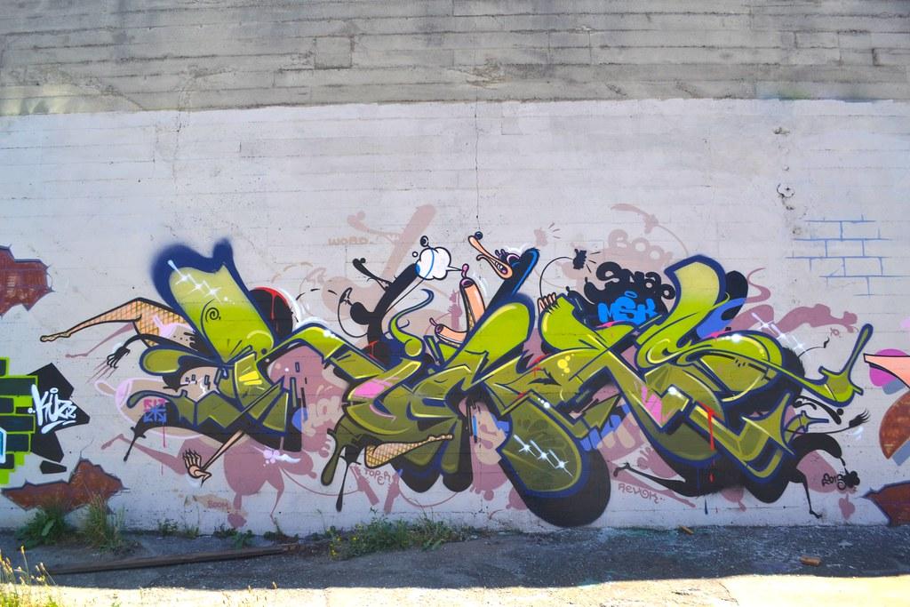 RIMES, MSK, AWR, Oakland, Graffiti, Street Art,