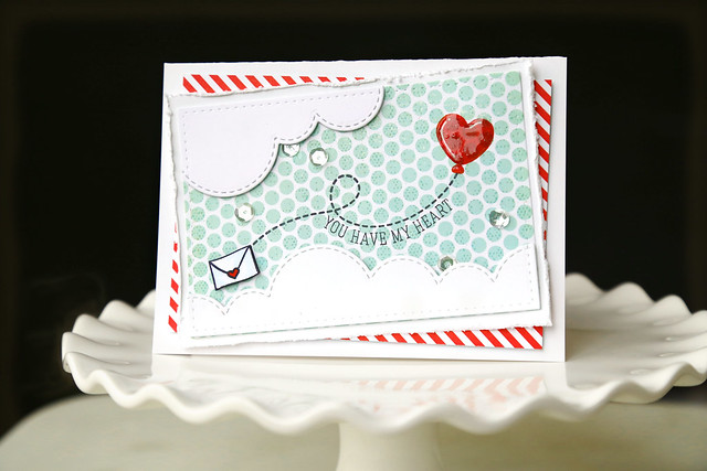 balloons! {mama elephant stamp highlights}