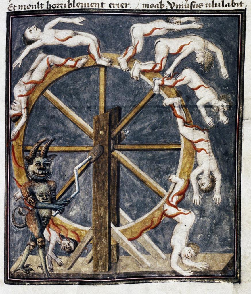 Demons From The Livre de la vigne nostre Seigneur, 1450 - 70 (4)