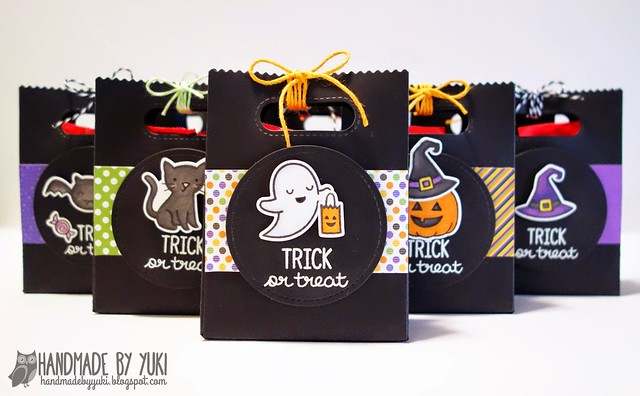 Halloween Goodie Bags featuring Lawn Fawn
