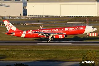 AirAsia X A330-343 msn 1581