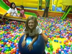 flower(0.0), play(1.0), ball pit(1.0), toy(1.0),