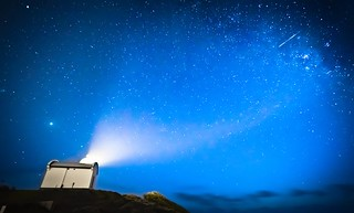 The Shooting Star Projector - Lighthouse in Port Macquarie, Australia
