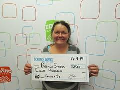 Brenda Sparks - $800 Crazier 8's