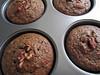 Banana-apple buckwheat muffins