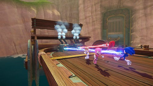 Sonic Boom: Rise of Lyric Launch Screens