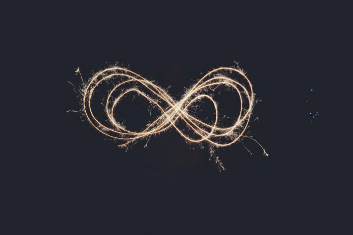 infinity sparkler