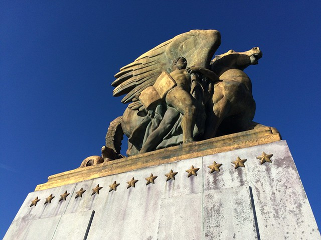 Aspiration and Literature statue, Arlington Memorial Bridge