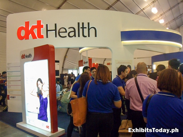 DKT Health Exhibit Stand