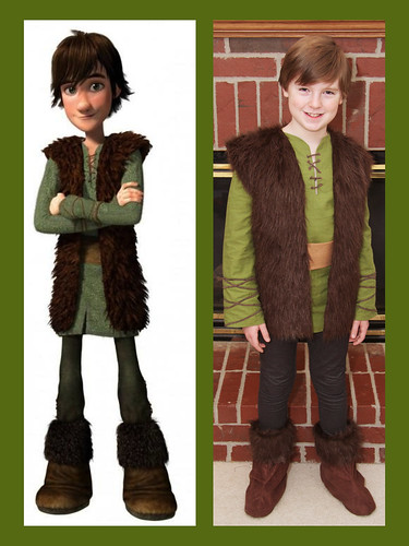 James as Hiccup