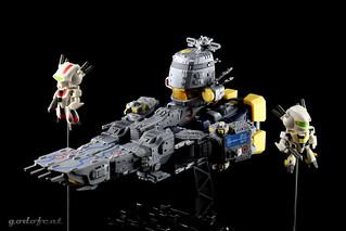 【玩具人'godofcat'投稿】誠造社cute版 超時空要塞 SDF-1