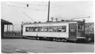 Gary Railways streetcar