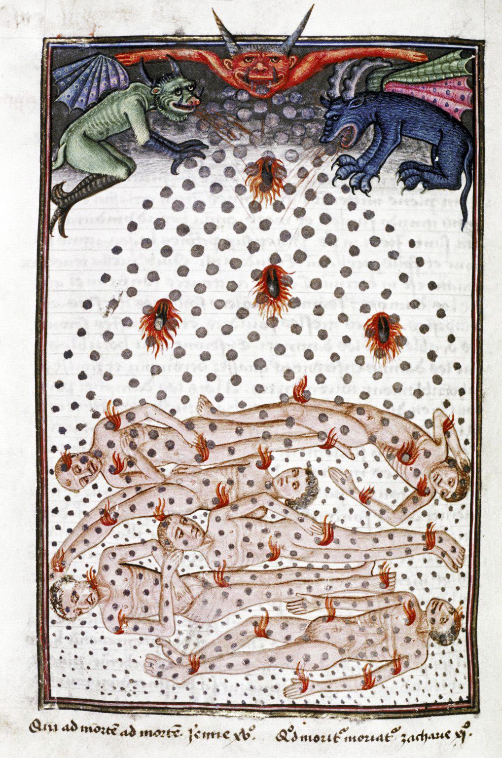 Demons From The Livre de la vigne nostre Seigneur, 1450 - 70 (24)