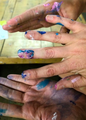 Artists' hands | by Ruth and Dave