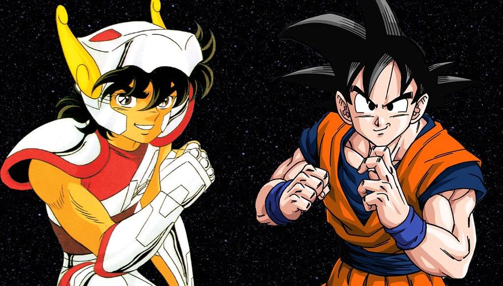 Seiya e Goku de volta a TV aberta brasileira! Confira essa e outras novidades!