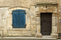 Two portals: Tavernes, Var, Provence, France
