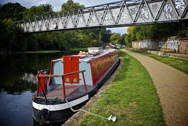 Narrow Boat, Lea Navigation