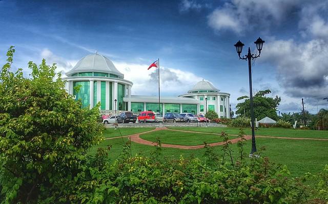 The view of Dapitan City Hall. #Dapitan #ZamboangaDelNorte #Wanderlust #wanderer #wander #travelust #travel #traveler #ilovephilippines #choosephilippines #cookietravels #cookielove #LoveLocal #itsmorefuninthephilippines #visitPH #travelASIA #Philippines
