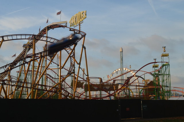 Three Coasters of Winter Wonderland 2016