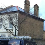 New synthetic slate roof, Brixton
