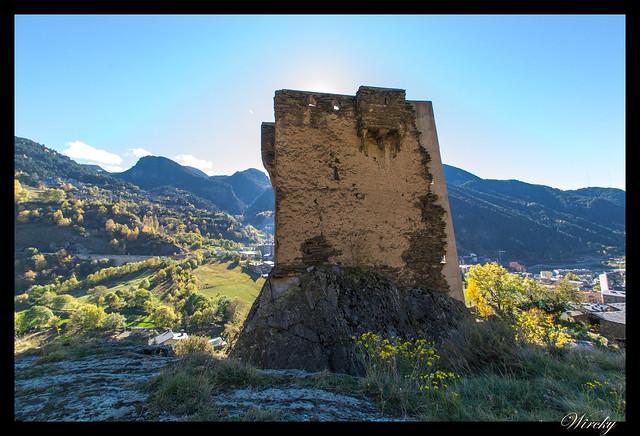 Conjunto histórico de Les Bons - Torre de los Moros