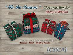 """[CIRCA] - """"Tis the Season"""" - Christmas Box Set - Deery"""