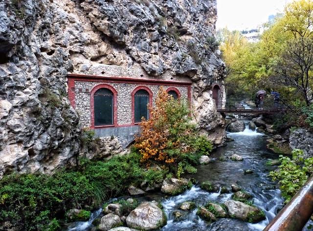 L a antigua fábrica de la luz . Castril . Granada .