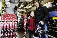 Kde Ježíšek nakupuje lyžařskou výbavu pro děti?