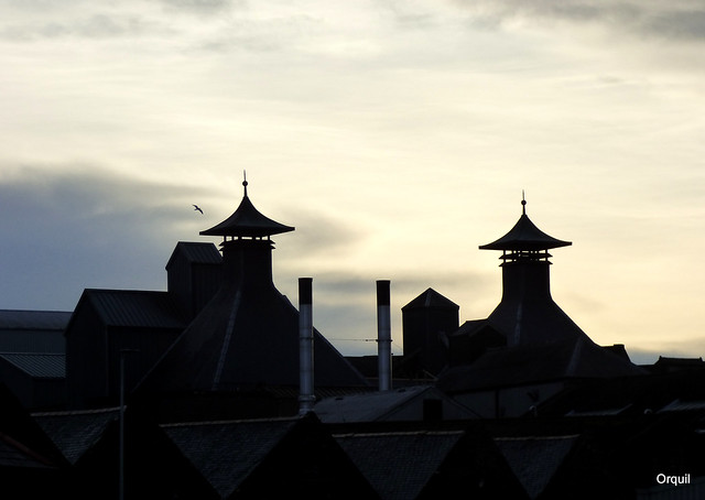 The Highland Park Distilllery Rooftops