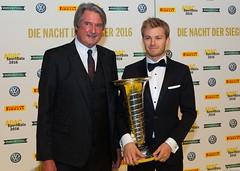 ADAC Präsident Tomczyk und Nico Rosberg