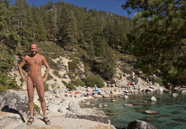 naturist 0000 Secret Cove, Lake Tahoe, Nevada, USA