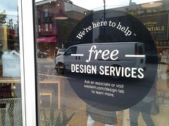 West Elm and West Elm Market offer free design services!