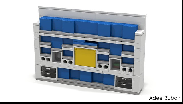 LEGO Modular Building - LEGO Brand Store - Brand Ribbon, Digital Box & Shelving
