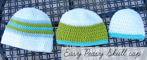 easy peasy skull cap