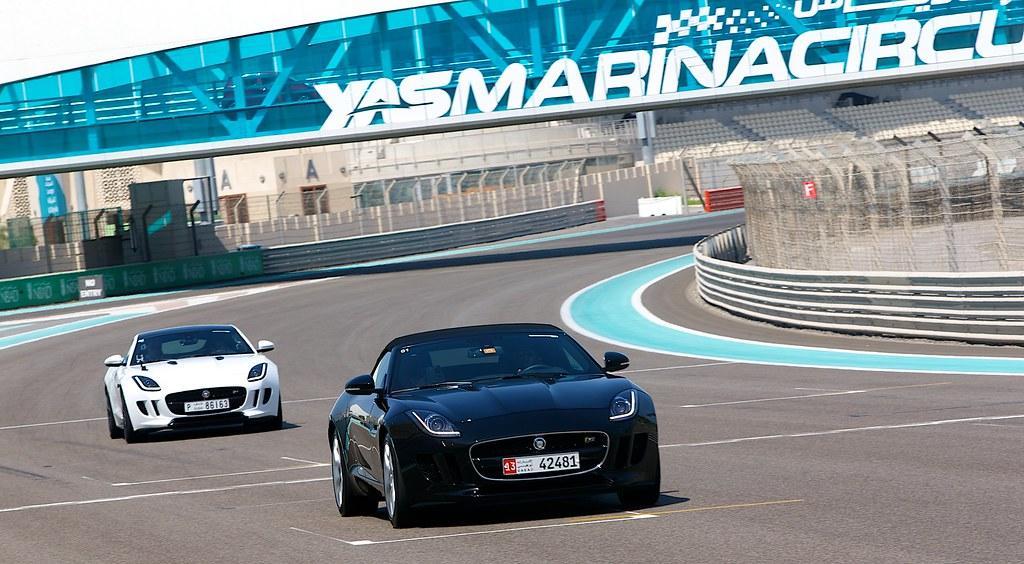 Jaguar Experience | Yas Marina Circuit Abu Dhabi | October 2014