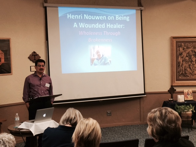 'Wholeness through Brokenness: Henri Nouwen on Being a Wounded Healer' Weekend Retreat at The Casa, Scottsdale, AZ (Oct. 17-19, 2014)
